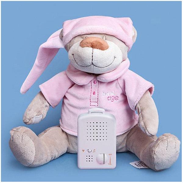 Babiage Игрушка для сна Doodoo Мишка Матис, розовая