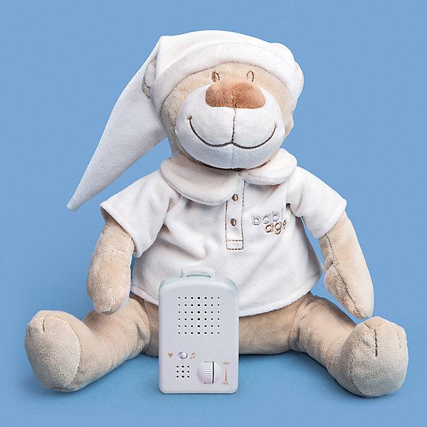 Babiage Игрушка для сна Doodoo Мишка Робин, бежевая