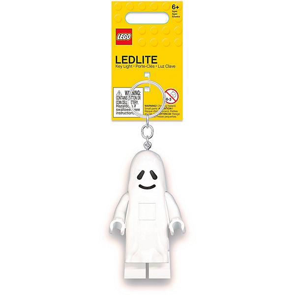 Купить Брелок-фонарик для ключей LEGO Ghost: Привидение, Китай, белый, Унисекс