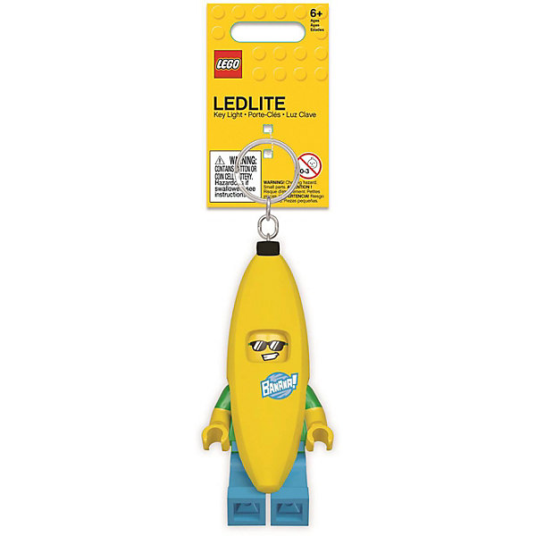 LEGO Брелок-фонарик для ключей Banana Guy: Человек-банан