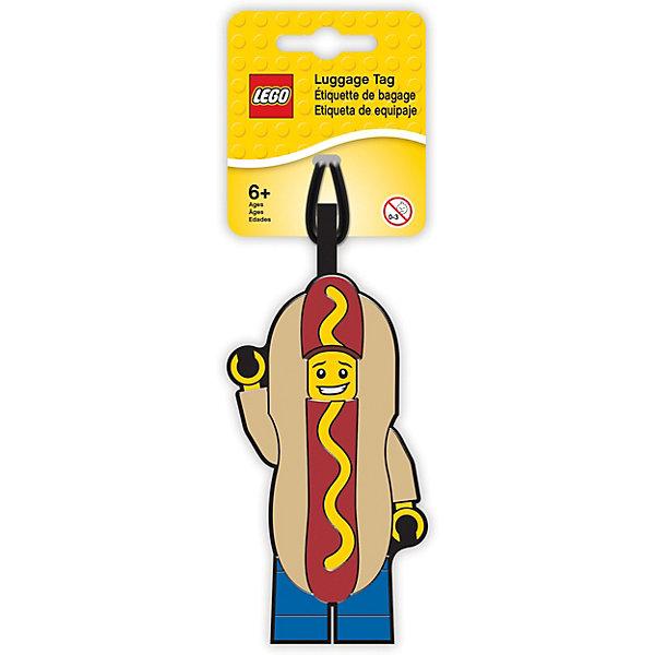- Бирка для багажа Lego Hot Dog