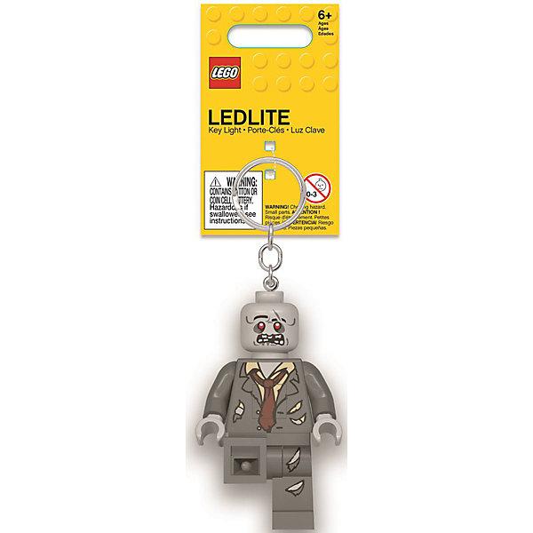 Купить Брелок-фонарик для ключей LEGO, Zombie, Китай, серый, Унисекс