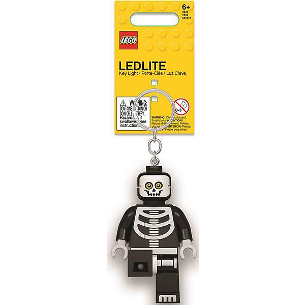 Купить Брелок-фонарик для ключей Lego, Skeleton, Китай, черный, Унисекс