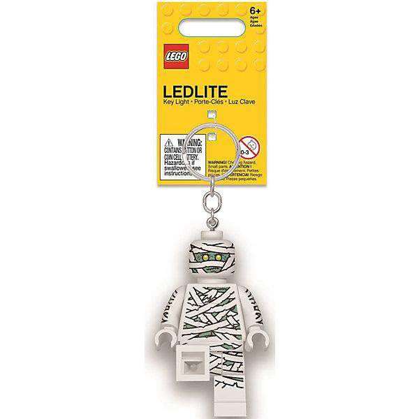 Купить Брелок-фонарик для ключей Lego, Mummy, Китай, белый, Унисекс