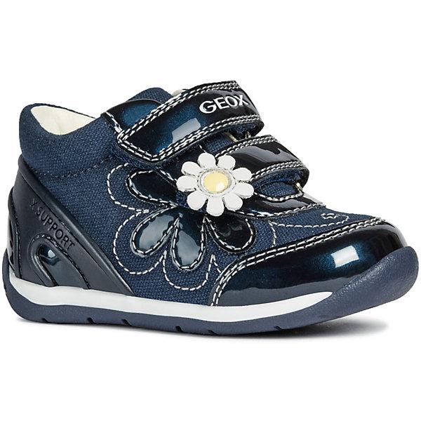 Ботинки GEOX, Синий/белый