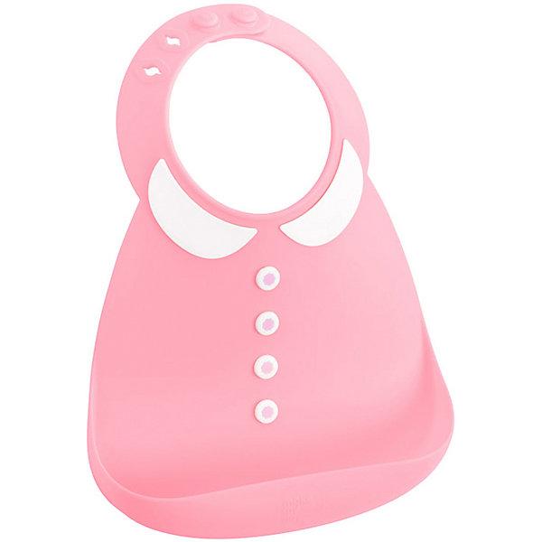 Купить Нагрудник Baby Bib Peter Pan pink, Make my day, Китай, розовый, Унисекс