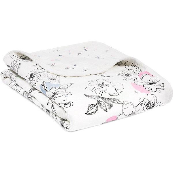 Купить Одеяло из бамбука Aden+anais 70х70 см, США, разноцветный, Женский