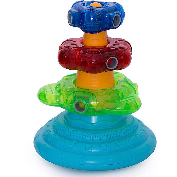 Lalaboom Развивающая игрушка Lalaboom Пирамида, 9 предметов цена