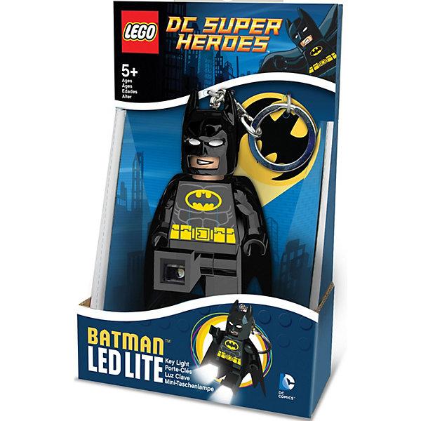Купить Брелок-фонарик для ключей Lego Super Heroes: Batman, Китай, черный, Мужской