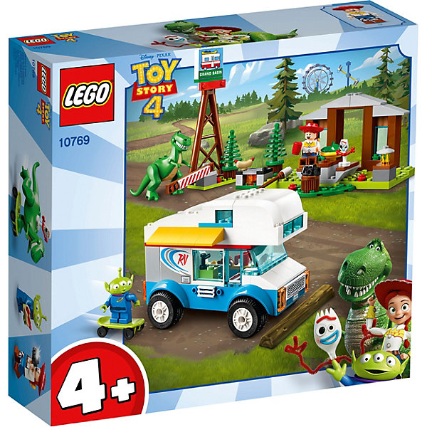 конструктор lego история игрушек 4 весёлый отпуск 10769 LEGO Конструктор LEGO Toy Story 4 10769: Весёлый отпуск