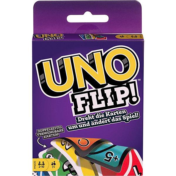 Mattel Карточная игра Mattel Games UNO Flip!