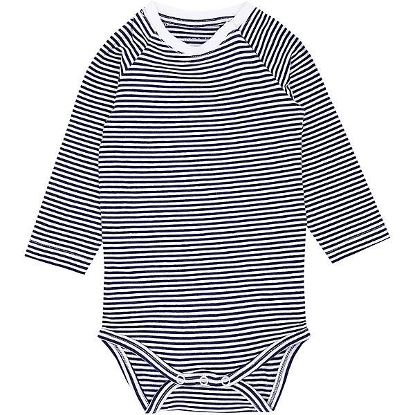 Футболка с длинным рукавом Name it для мальчикаФутболки с длинным рукавом<br>Характеристики товара:<br><br>• состав ткани: 95% хлопок, 5% эластан<br>• сезон: демисезон<br>• застёжка: без застёжки<br>• футболка с длинным рукавом<br>• страна бренда: Дания<br><br>Футболка в мелкую полоску изготовлена из дышащих и качественных тканей. Приятная на ощупь и позволяет телу дышать, удобный крой не сковывает. Округлый вырез с эластичным кантом контрастного цвета не натирает и не давит.