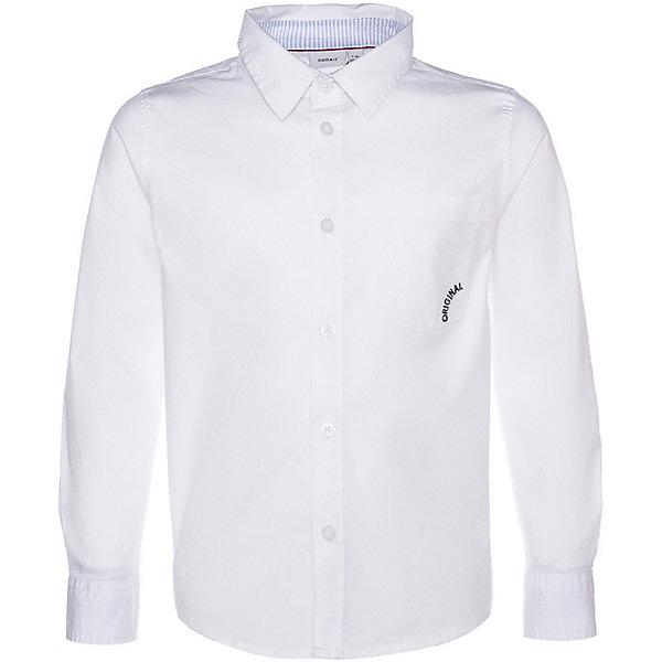 Купить Рубашка Name it для мальчика, Бангладеш, белый, 146/152, 134/140, 116, 158/164, 122/128, Мужской