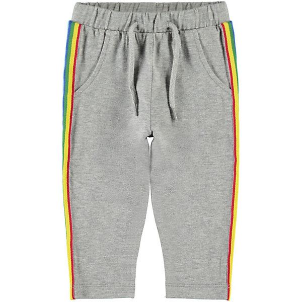 Купить Спортивные брюки Name It, Китай, серый, 74, 62, 68, 56, Мужской