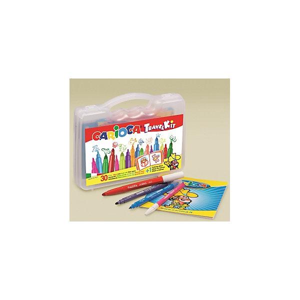 Carioca Набор для рисования Carioca Travel Kit Fantasy, 31 предмет