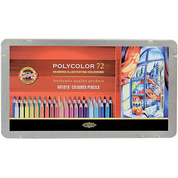 Koh-i-noor Набор цветных художественных карандашей KOH-I-NOOR Polycolor, 72 цвета