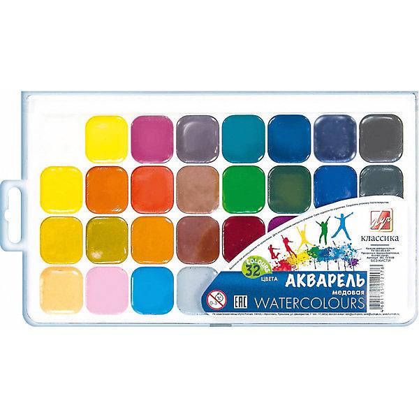 ЛУЧ Акварель Луч Классика медовая, 32 цвета