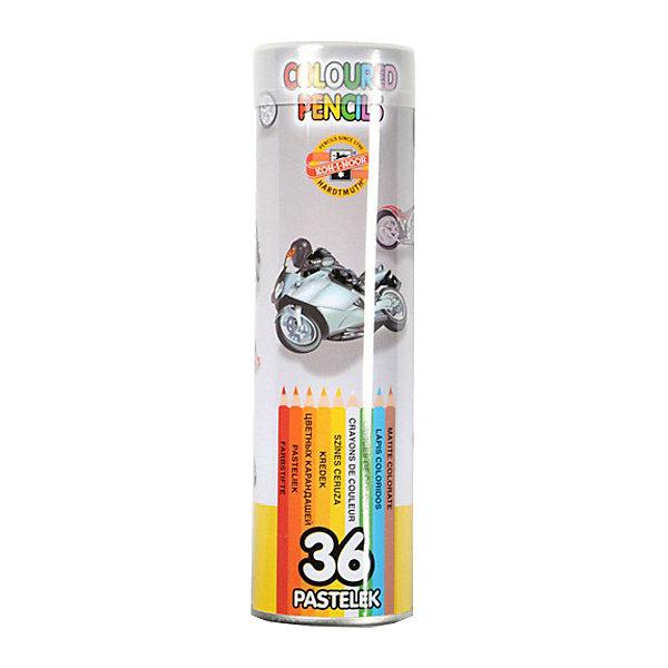 Набор цветных карандашей KOH-I-NOOR, 36 цветов, Серый