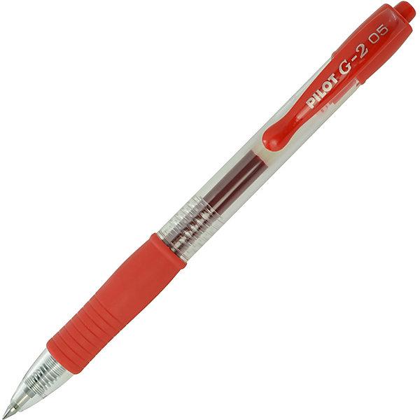 """Pilot Гелевая ручка Pilot """"G2-5"""" автоматическая, красная"""