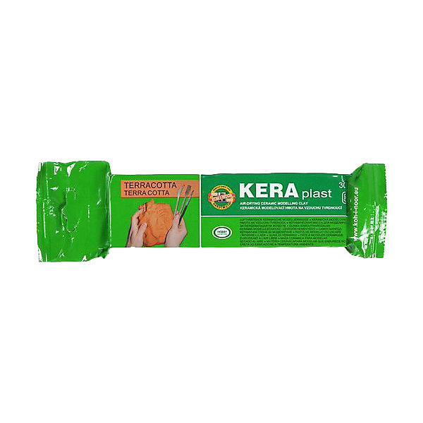 Купить Глина для лепки KOH-I-NOOR Kerapkast 300 г, терракот, Чехия, зеленый, Унисекс