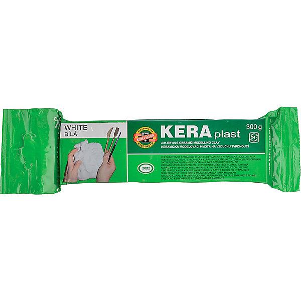 Купить Глина для лепки KOH-I-NOOR Kerapkast 300 г, белая, Чехия, зеленый, Унисекс