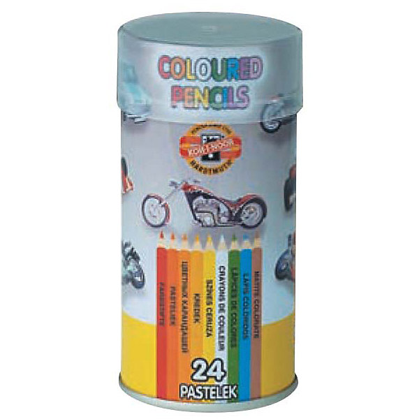 Koh-i-noor Набор цветных карандашей KOH-I-NOOR, 24 цвета