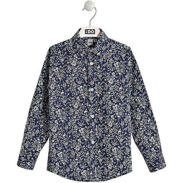 Купить Рубашка iDO, Китай, разноцветный, 152, 140, 122, 164, 128, Мужской