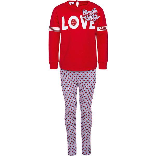 Купить Спортивный костюм iDO для девочки, Китай, красный, 122, 98, 110, 104, 116, Женский