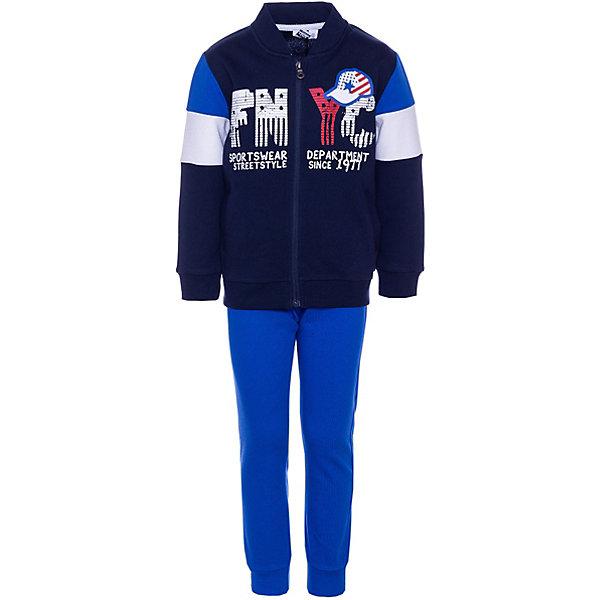 Купить Спортивный костюм iDO для мальчика, Китай, голубой, 92, 110, 98, 122, 116, 104, Мужской