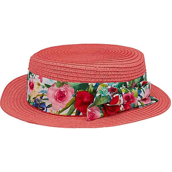 Купить Шляпа Mayoral для девочки, Китай, оранжевый, 58, 52, 56, 54, 51, Женский