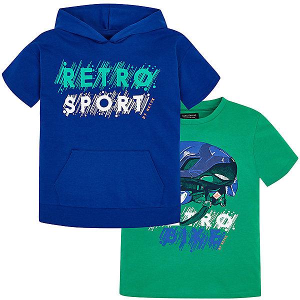 Комплект: Толстовка и футболка Mayoral для мальчика