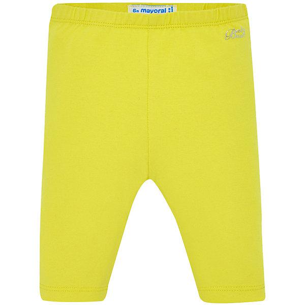 Купить Леггинсы Mayoral для девочки, Бангладеш, желтый, 74, 86, 80, 92, 98, Женский