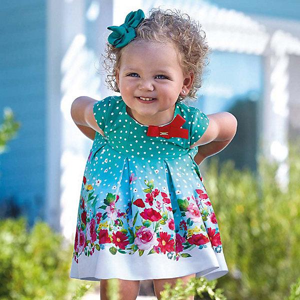 Купить Платье Mayoral для девочки, Марокко, зеленый, 92, 98, 80, 86, Женский
