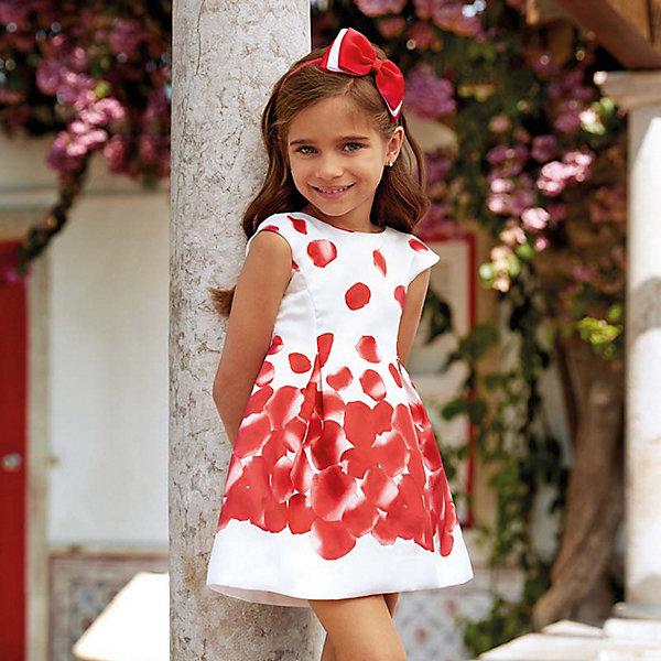 Купить Нарядное платье Mayoral, Марокко, красный, 134, 116, 92, 122, 104, 98, 110, 128, Женский
