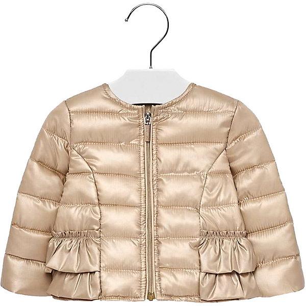 Купить Демисезонная куртка Mayoral, Китай, золотой, 98, 80, 92, 86, Женский