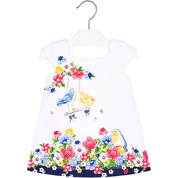 Купить Платье Mayoral для девочки, Индия, темно-синий, 86, 92, 74, 80, 98, Женский