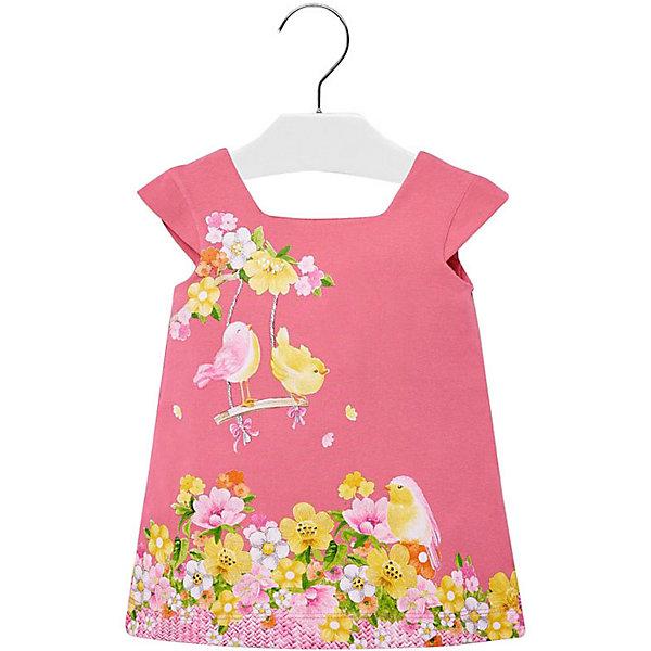 Купить Платье Mayoral для девочки, Индия, розовый, 98, 74, 86, 92, 80, Женский