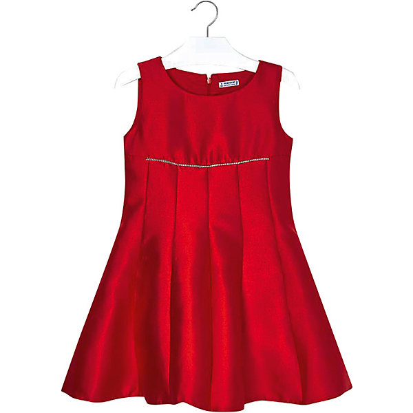Нарядное платье Mayoral, Красный