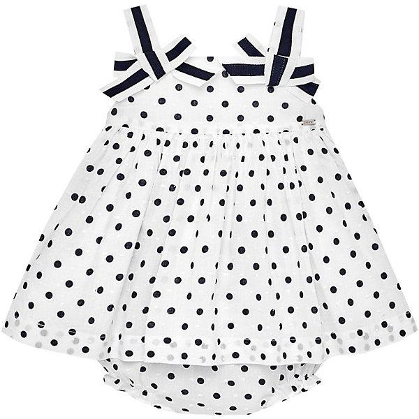 Купить Платье Mayoral для девочки, Индия, темно-синий, 74, 86, 98, 80, 92, Женский