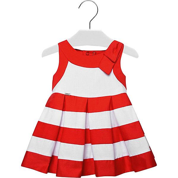 Платье Mayoral для девочки, Марокко, красный, 98, 92, 80, 86, Женский  - купить со скидкой