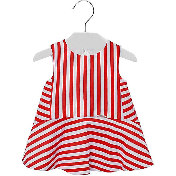 Платье Mayoral для девочки, Красный