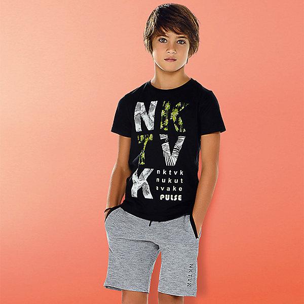 Купить со скидкой Комплект Mayoral: футболка, майка, шорты