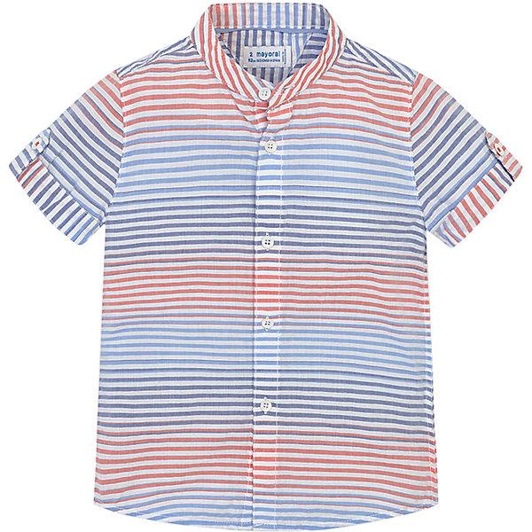 Купить Рубашка Mayoral для мальчика, Бангладеш, разноцветный, 116, 128, 110, 104, 134, 98, 122, Мужской