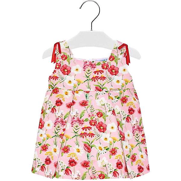 Купить Платье Mayoral для девочки, Марокко, красный, 86, 92, 98, 80, Женский