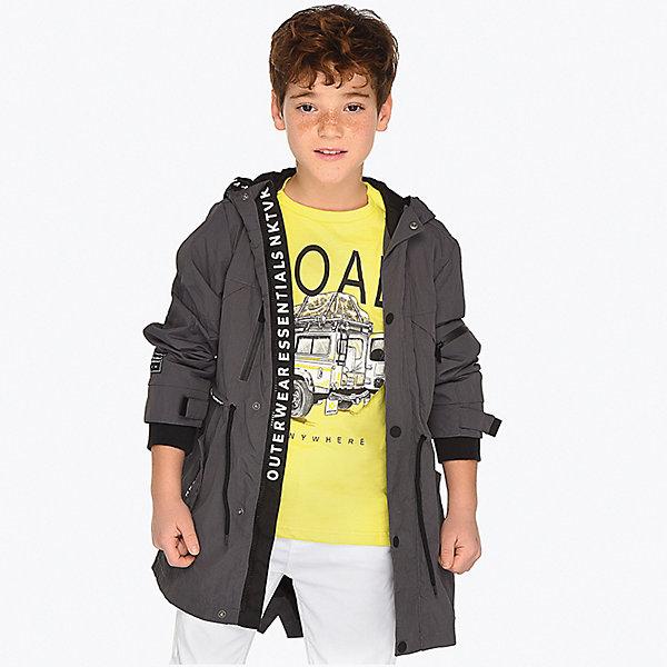 Купить Куртка Mayoral для мальчика, Китай, темно-серый, 153/160, 167/172, 146/152, 128, 161/166, 134/140, Мужской