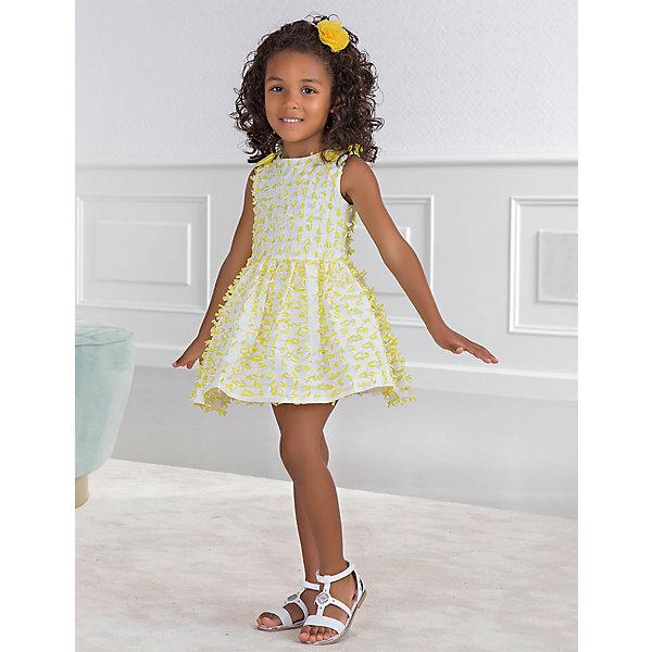 Платье Abel & Lula для девочки, Желтый