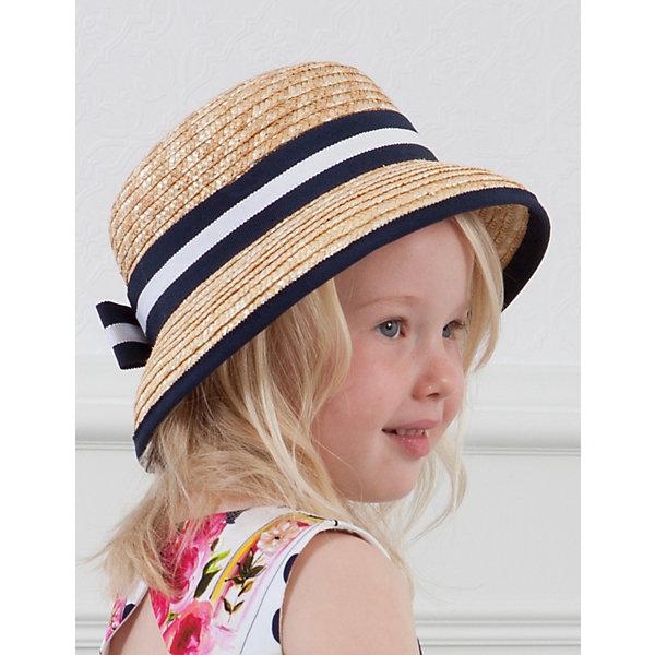 Купить Шляпа Abel & Lula для девочки, Abel&Lula, Испания, темно-синий, 54, 51, Женский
