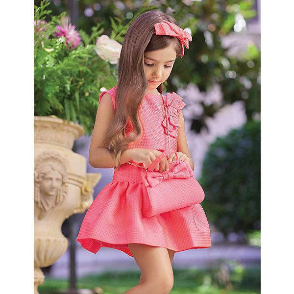 Купить Платье Abel & Lula для девочки, Abel&Lula, Испания, красный, 110, 140, 152, 128, 122, 116, Женский