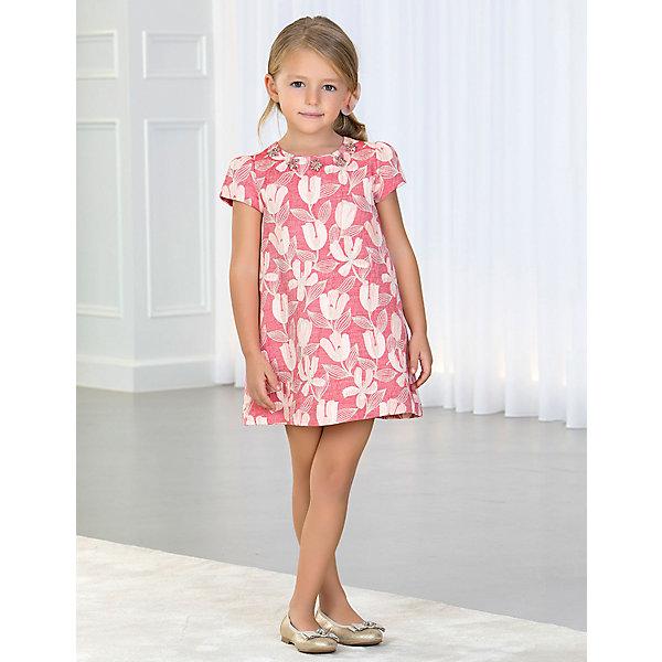 Купить Нарядное платье Abel&Lula, Испания, красный, 122, 128, 116, 110, 152, 140, Женский