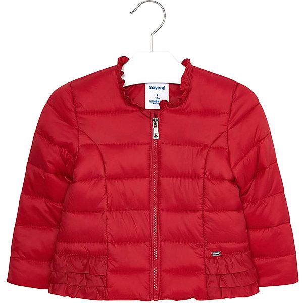 Куртка Mayoral для девочки, Красный